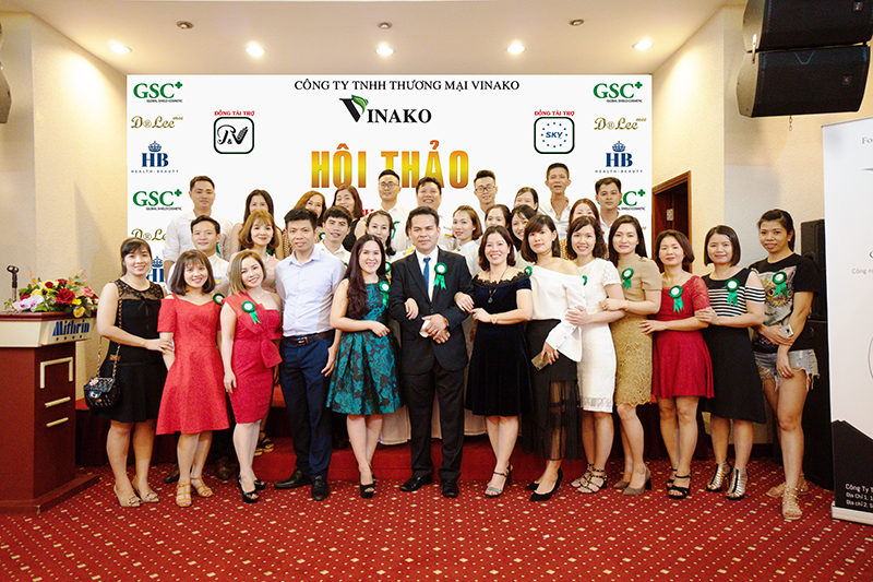 Vinako – mang tới giải pháp sắc đẹp toàn diện trong ngành dược mỹ phẩm