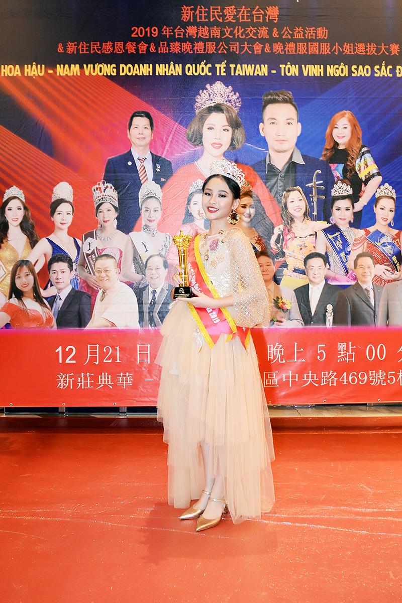 Nguyễn Trúc Anh xuất sắc giành vương miện Hoa hậu nhí tài năng Quốc tế Taiwan 2019