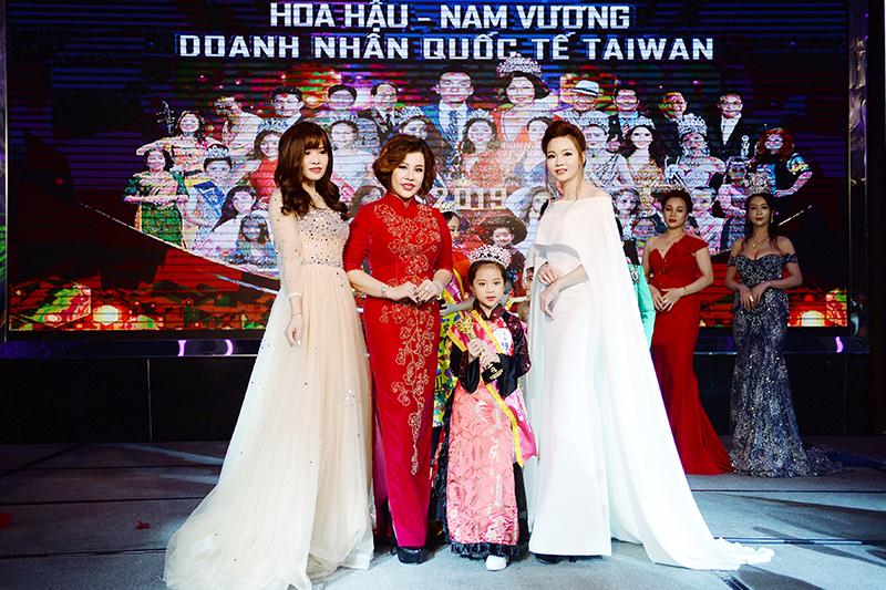 Vũ Lê Thư trở thành chủ nhân của vương miện Hoa hậu nhí Đại sứ Quốc tế Taiwan 2019