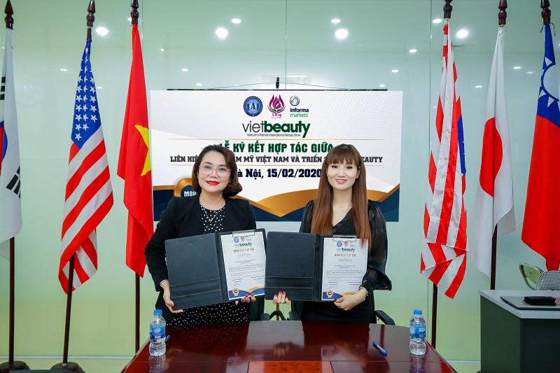 Liên hiệp Spa Thẩm mỹ Việt Nam kí kết hợp tác cùng Triển lãm VIETBEAUTY