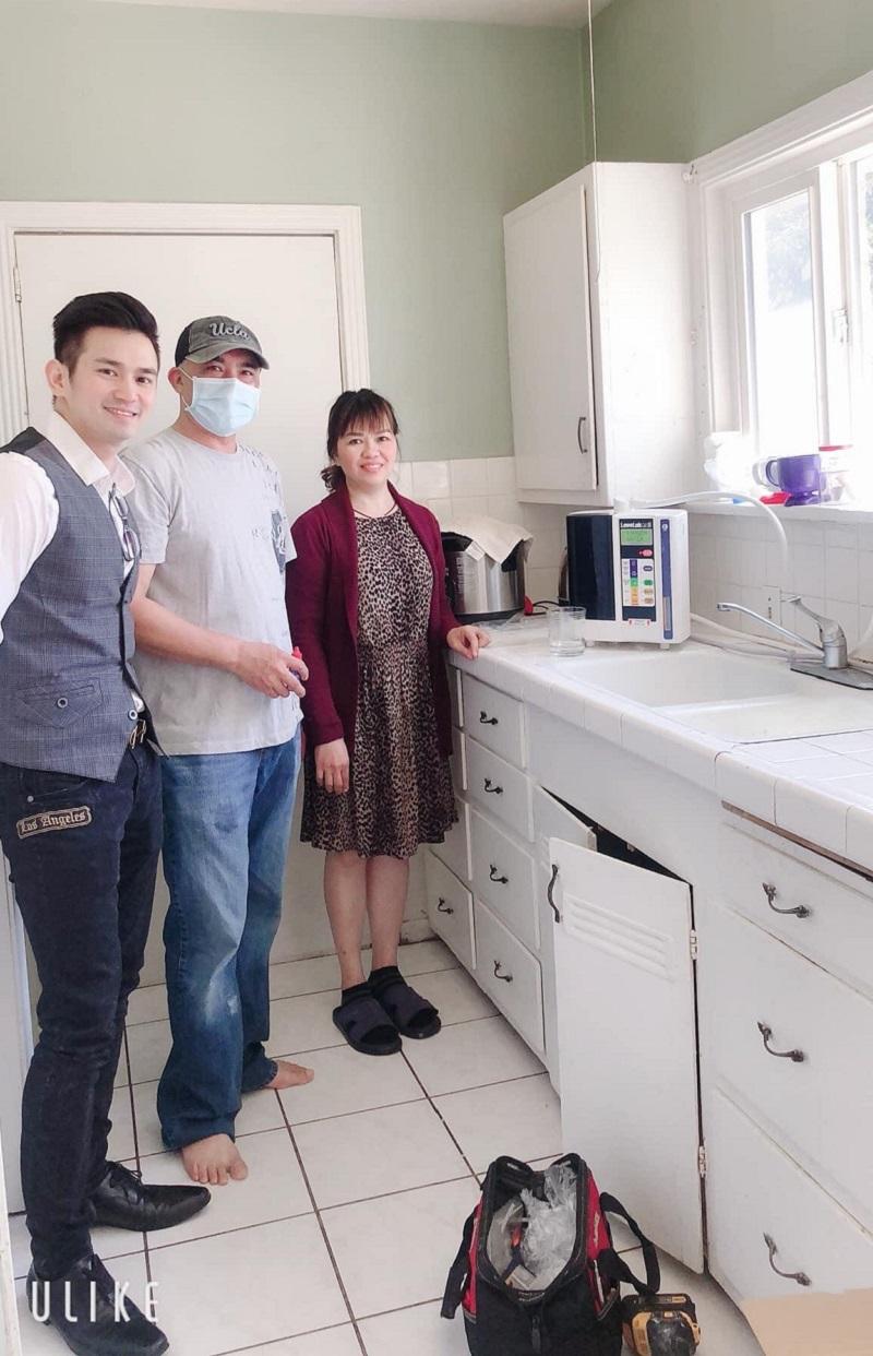 Bảo vệ sức khỏe và trực tiếp kinh doanh từ máy điện giải Kangen Water