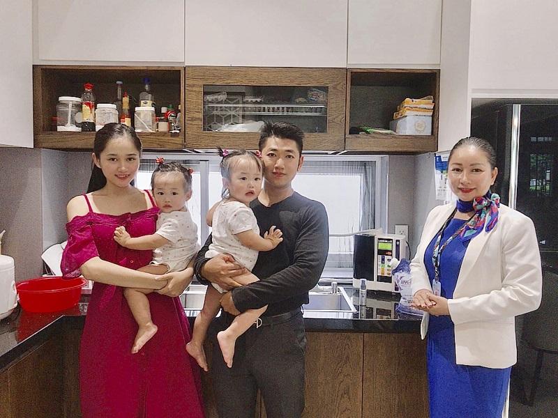 """Gia đình anh Đức Nguyễn: """"Kangen Water là sự yên tâm của gia đình tôi"""""""