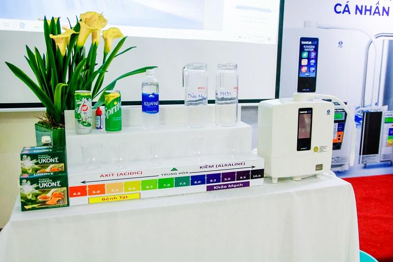 Máy điện giải Kangen Water – Sản phẩm ưu việt chăm sóc sức khỏe