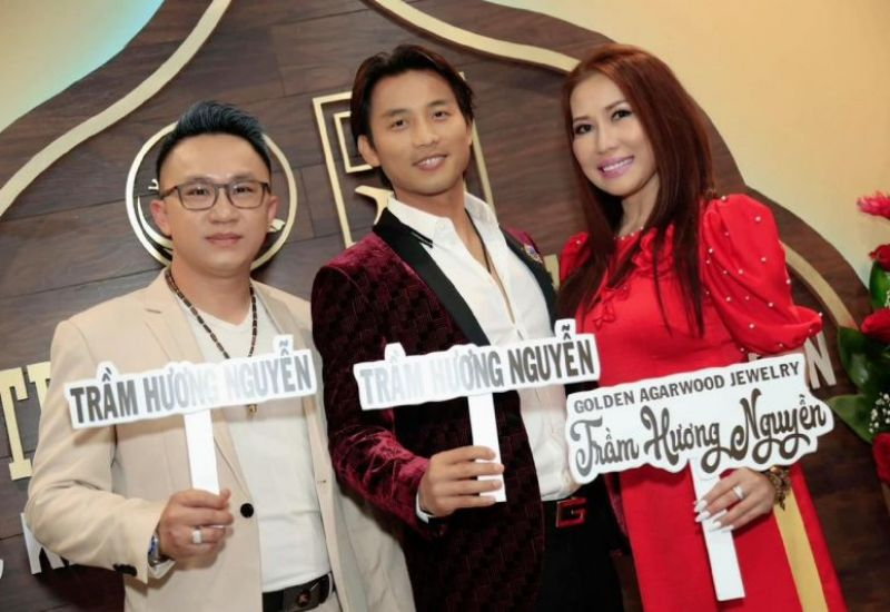 Hoa hậu Annie Kim Nguyễn có mặt tại Cali để chúc mừng khai trương cửa hàng Trầm Hương Nguyễn – Golden Agarwood Jewelry