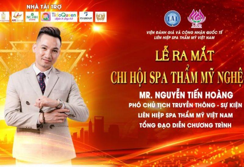 Tổng đạo diễn Mr Snake làm host chương trình lễ ra mắt chi hội spa thẩm mỹ Nghệ An