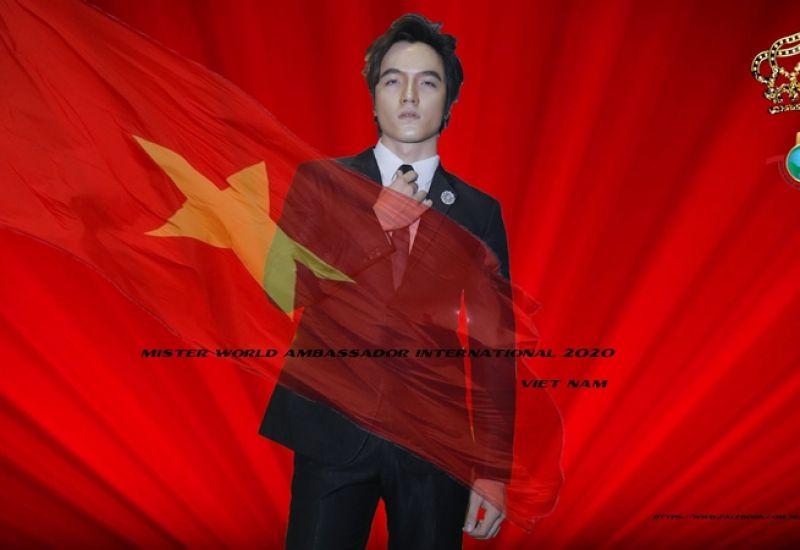 Chân dung mỹ nam đại diện Việt Nam chinh phục đấu trường Nam vương thế giới Mister World Ambassador international 2020