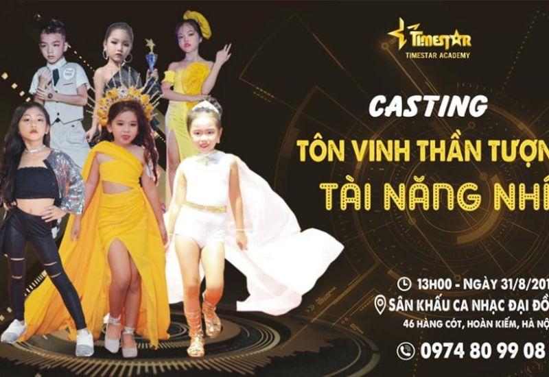 Ban giám khảo vòng casting chương trình Tôn vinh thần tượng tài năng nhí 2019 gồm những ai ?