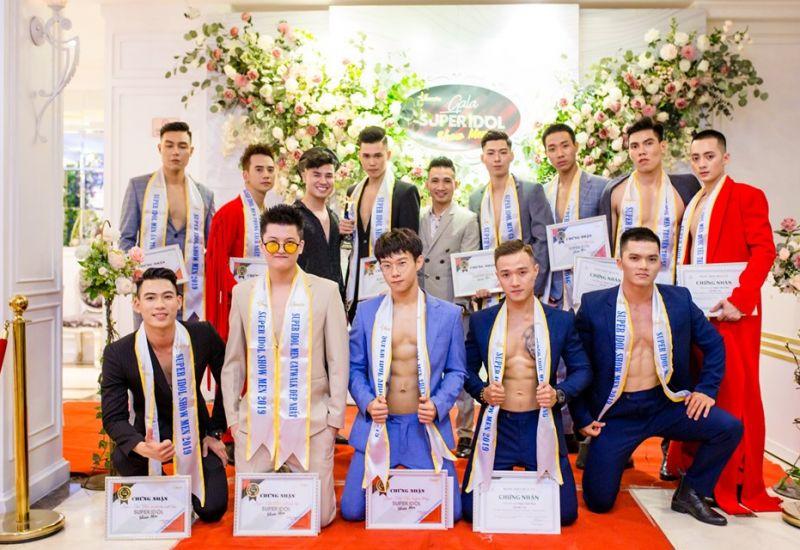 Gala Super Idol Show Men đêm dạ tiệc của  các nam thần