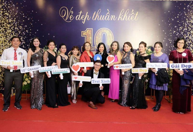 Công ty Cổ phần Vẻ đẹp Thuần Khiết - Dược mỹ phẩm Graisset trở thành nhà tài trợ 'đồng' sự kiện Gala Mảnh ghép sắc đẹp 3