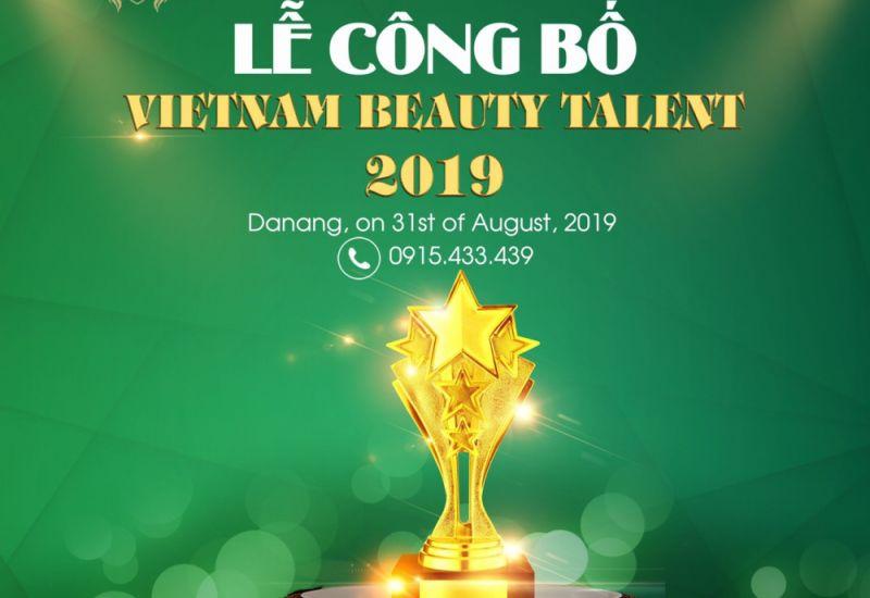 Lễ công bố chương trình Viet Nam Beauty Talent 2019