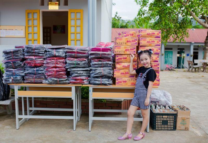 Chuyến đi thiện nguyện ý nghĩa tại Thanh Hóa của Hoa hậu nhí Quốc tế Taiwan Nguyễn Thảo Chi