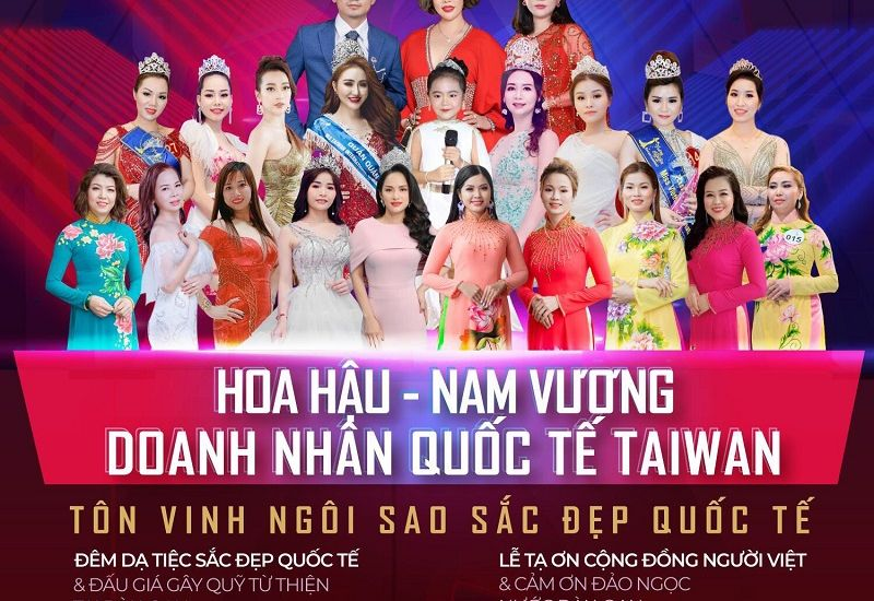 Cơ hội trở thành Hoa hậu - Nam vương Nhí Quốc tế Taiwan 2019