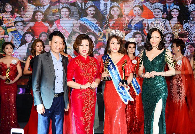 Cù Thị Ngọc Linh xứng đáng với ngôi vị Hoa hậu thời trang Quốc tế Taiwan 2019