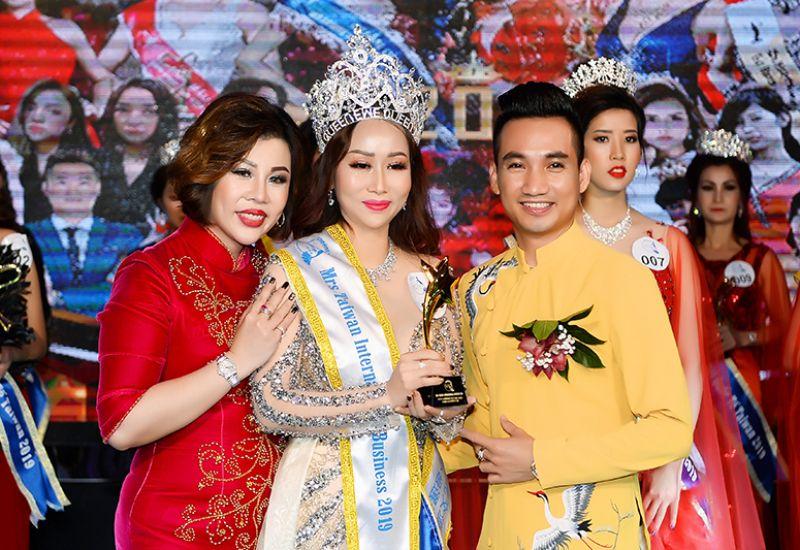 Đã tìm ra ngôi vị Hoa Hậu - Nam Vương Doanh nhân Quốc tế Taiwan 2019
