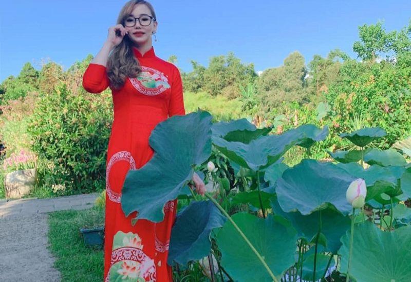 Hoa hậu áo dài quốc tế 2019 Trà My – người có trái tim ấm áp