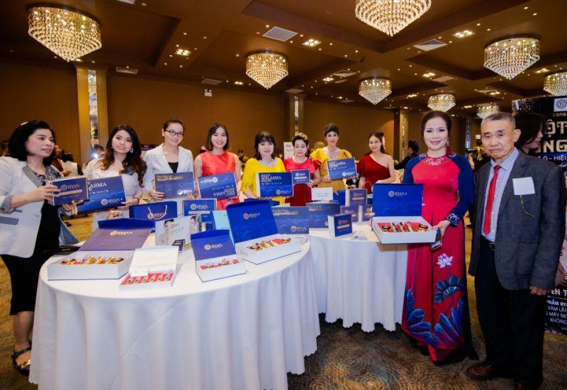Nhà tài trợ vàng Linh Bảo Phát trong gala Mảnh ghép sắc đẹp 3