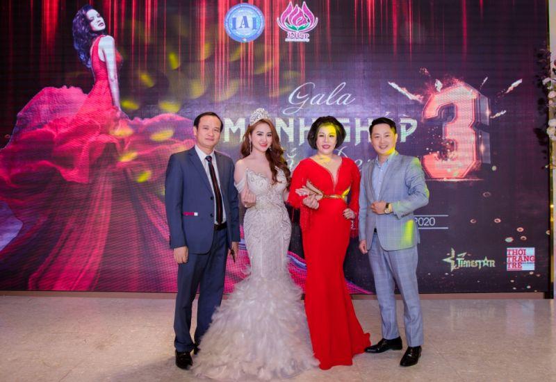 Hoa hậu quốc tế Taiwan Hải Yến toả sáng cùng Hoa hậu Châu Mai Thảo trong sự kiện Gala Mảnh ghép sắc đẹp 3