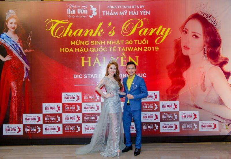 Hoa hậu Quốc tế Taiwan 2019 Lê Hải Yến và đạo diễn Mr Snake tham dự FACE of VIETNAM với tư cách đặc biệt