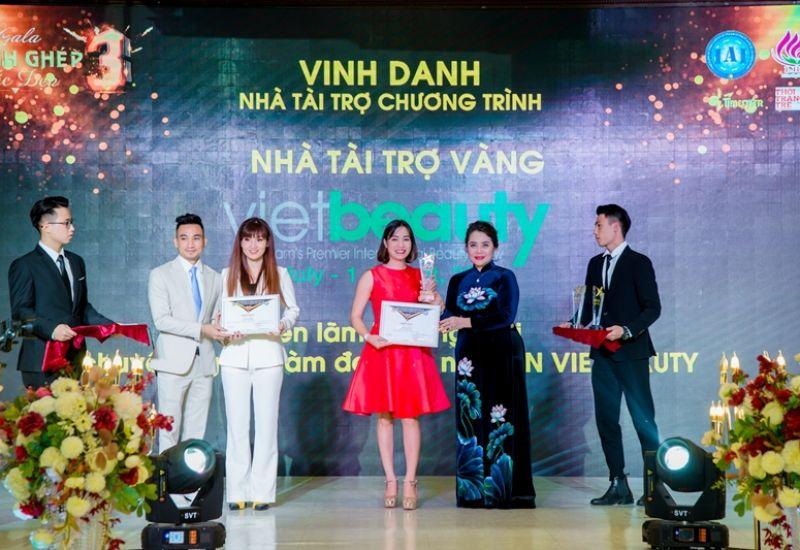 Nhà tài trợ vàng - Triển lãm thương mại quốc tế Vietbeauty 2020 trong gala Mảnh ghép sắc đẹp 3