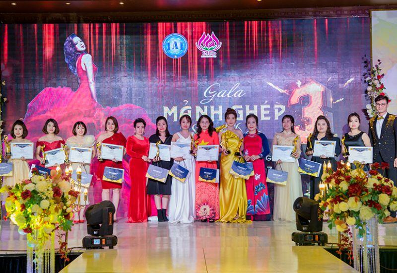 Gala Mảnh ghép sắc đẹp 3 mang đậm dấu ấn với các nhà tài trợ đồng hành sự kiện