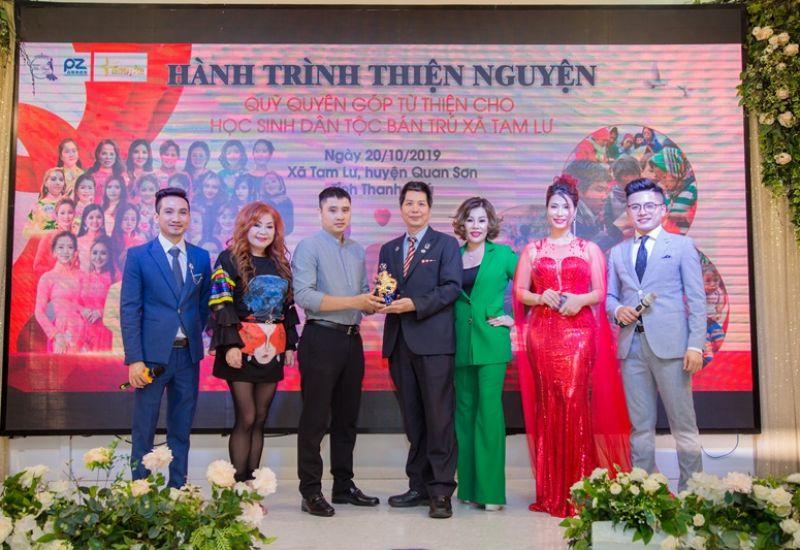 Các mạnh thường quân cùng hoa hoa, á hậu quốc tế chung tay góp quỹ từ thiện Hành trình thiện nguyện trong đêm Thanks Party - Gala Tôn vinh Sắc đẹp quốc tế 2019