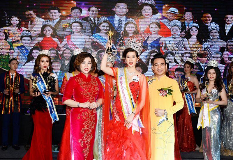 Hán Thị Thanh Tâm xuất sắc giành vương miện Hoa hậu Doanh nhân Quốc tế Taiwan 2019 hạng mục Ms
