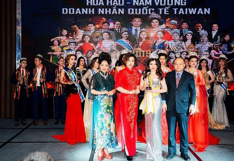 Ngô Ngọc Nữtrở thànhÁ hậu 3 Quốc tế Taiwan 2019 củaHoa hậu - Nam vương doanh nhân quốc tế Taiwan 2019