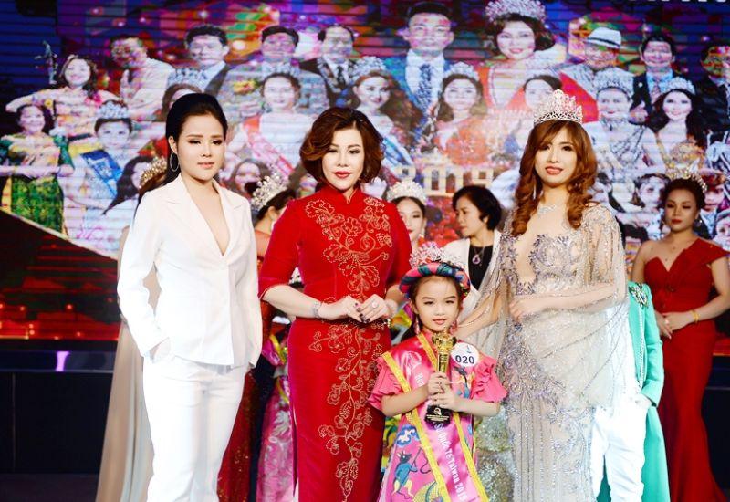 Mẫu nhí Nguyễn Đặng Quế Anh xuất sắc trở thành chủ nhân của danh hiệu Hoa hậu nhí thời trang Quốc tế Taiwan 2019
