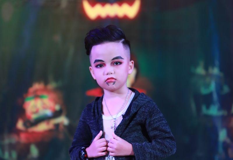 Nguyễn Đình Tiến - Hoàng tử nhí ma mị trong trong đêm Kids Halloween Party