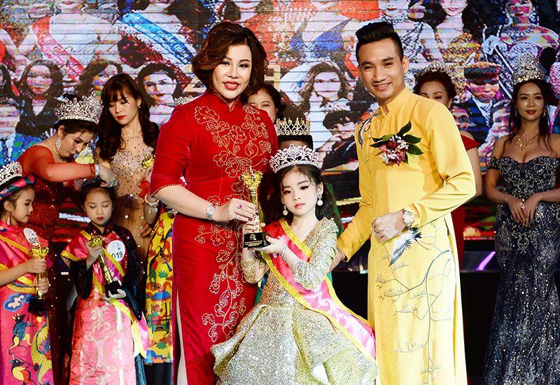 Nguyễn Hà Bảo Trân sở hữu danh hiệu Hoa hậu nhí khả ái Quốc tế Taiwan 2019