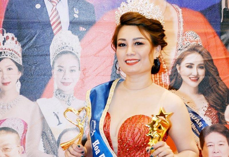 Nguyễn Lê Thùy - người đẹp An Giang nhận danh hiệu Hoa hậu công sở Quốc tế Taiwan 2019
