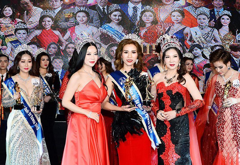 Người đẹp Phạm Thái Hậu đạt danh hiệu Hoa hậu Đại sứ Quốc tế Taiwan 2019