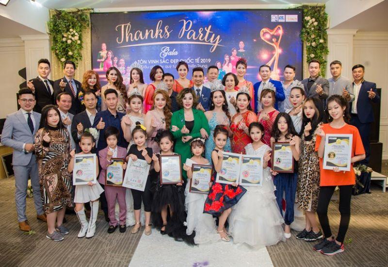 Nhìn lại sự kiện Thanks Party - Gala Tôn vinh Sắc đẹp quốc tế 2019 đầy cảm xúc