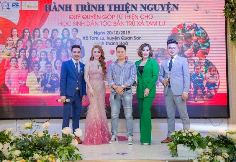 Ông xã Hoa hậu quốc tế Taiwan 2019 Lê Hải Yến đấu giá gây quỹ từ thiệntrong đêm Thanks Party - Gala Tôn vinh Sắc đẹp quốc tế 2019