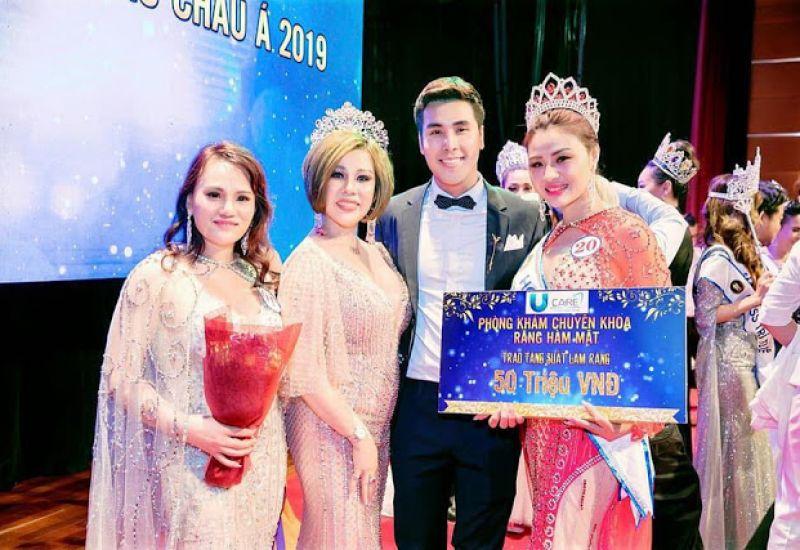 Hoa hậu Châu Mai Thảo tỏa sáng vai trò ban giám khảo cuộc thi :Hoa hậu & Nam vương sắc đẹp toàn cầu Châu Á