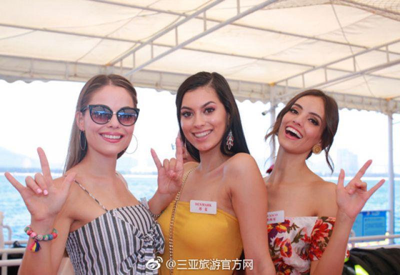 Thí sinh Hoa hậu Thế giới 2018 nóng bỏng với áo tắm