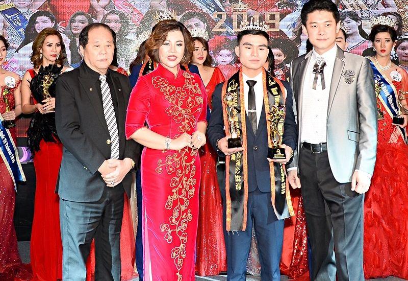 Trần Bá Trung trở thành Nam vương nhân ái Quốc tế Taiwan 2019
