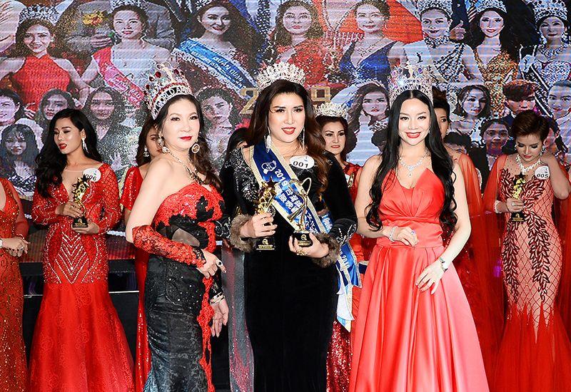 Người đẹp Trần Nhã Liên trở thành Hoa hậu Nhân ái Quốc tế Taiwan 2019