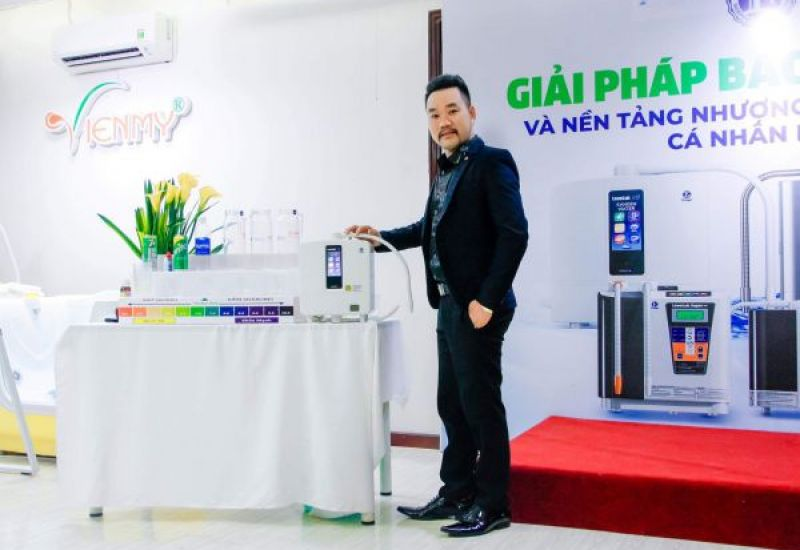 CEO VIỆN TÓC HIỆP KỲ- Đại sứ danh dự thương hiệu Kangen water 102