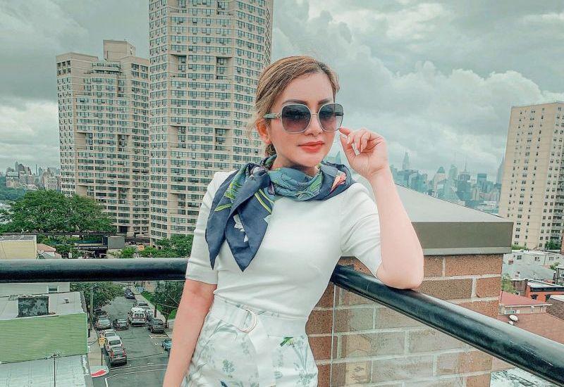 CEO Lâm Hoàng My thanh lịch với gout thời trang tinh tế