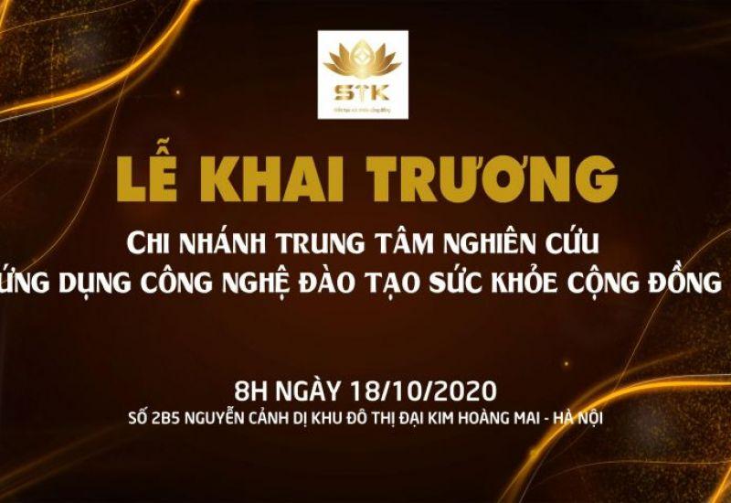 Trung tâm chăm sóc sức khoẻ STK tưng bừng khai trương chi nhánh mới tại Hà Nội