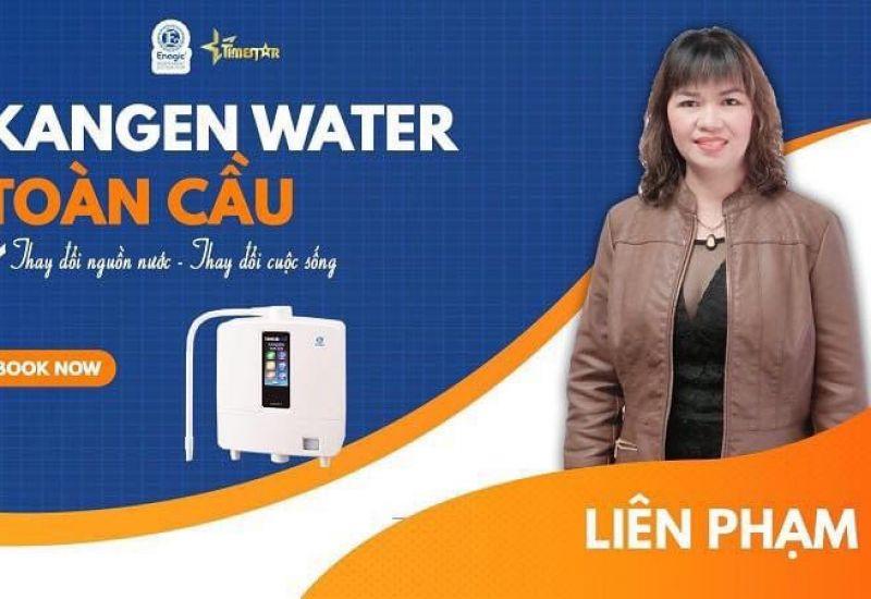 Mrs Liên Phạm – đại sứ tiêu biểu của Kangen water 102