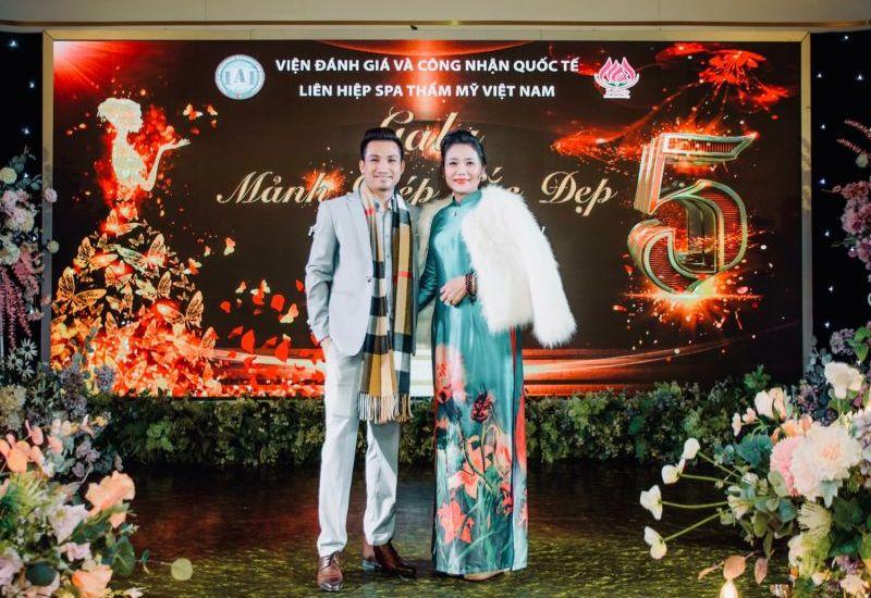 Chủ tịch Liên hiệp Spa Thẩm mỹ Việt Nam Đỗ Thị Diệu Hoa - người phụ nữ có Tài có Tâm và có Tầm
