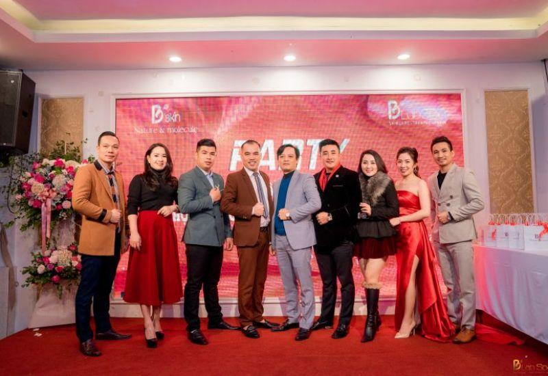 """Bskin Cosmetics - Blab Spa rực rỡ """"tiệc thảm đỏ"""" với chương trình tri ân khách hàng và Hội nghị Chiến lược kinh doanh 2021"""
