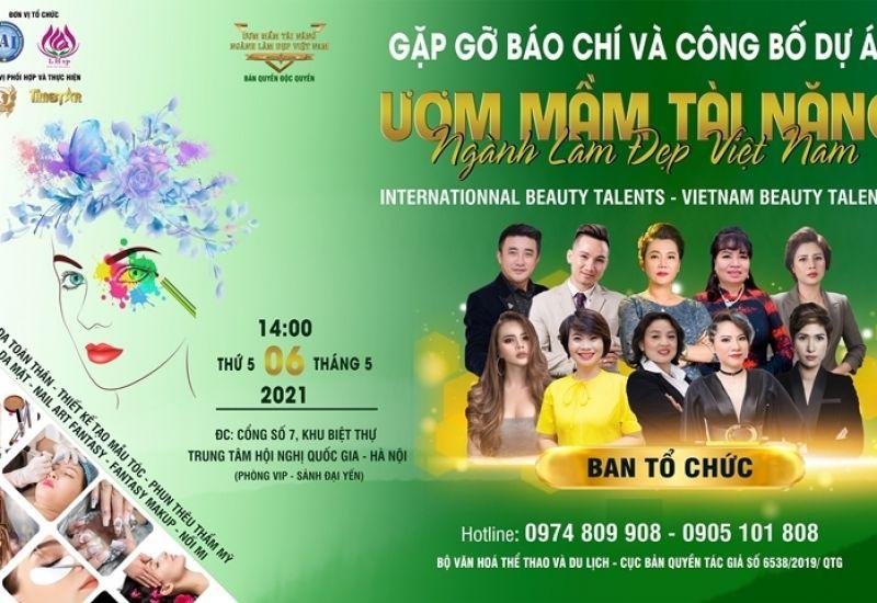Hàng trăm chuyên gia ngành làm đẹp tham dự buổi công bố dự án 'Ươm mầm tài năng ngành làm đẹp Việt Nam'