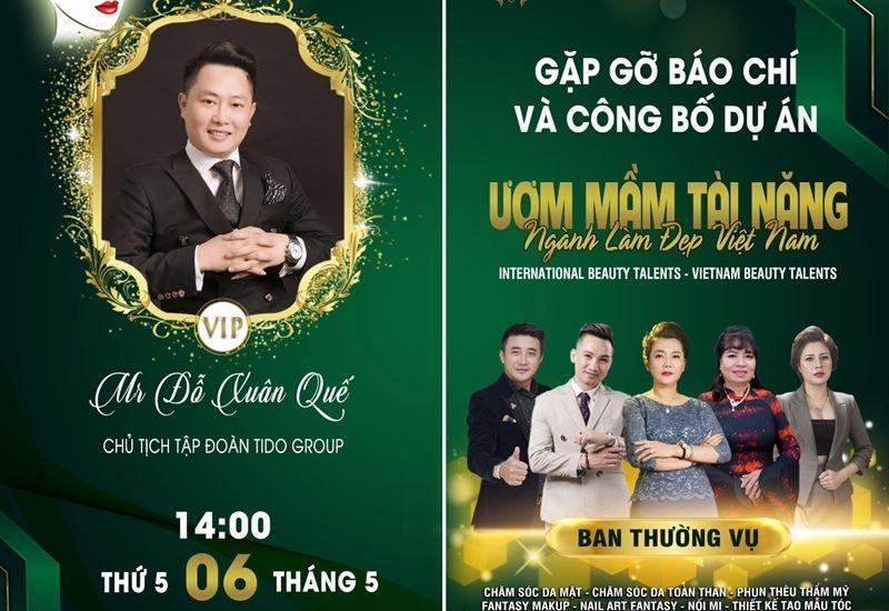Tido Group - Nhà tài trợ sự kiện công bố dự án 'Ươm mầm tài năng ngành làm đẹp Việt Nam'