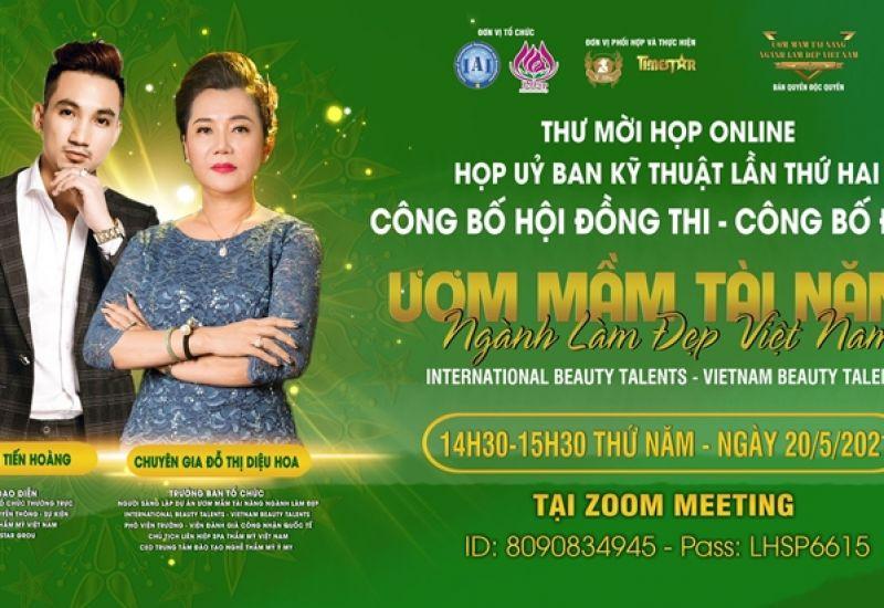 Chính thức công bố hội đồng thi và đề thi chương trình 'Ươm mầm tài năng ngành làm đẹp Việt Nam'