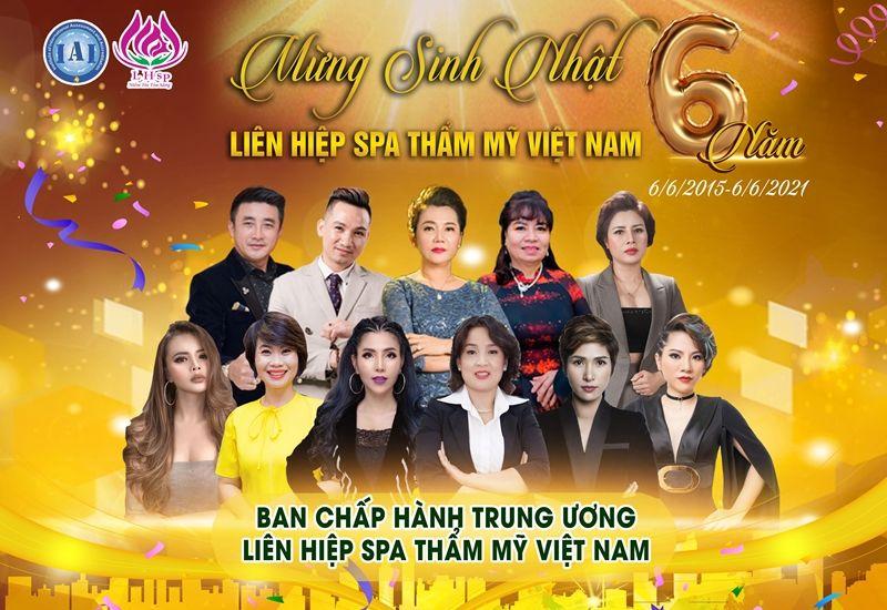 Liên hiệp Spa Thẩm mỹ Việt Nam - 6 năm hành trình phát triển bền vững