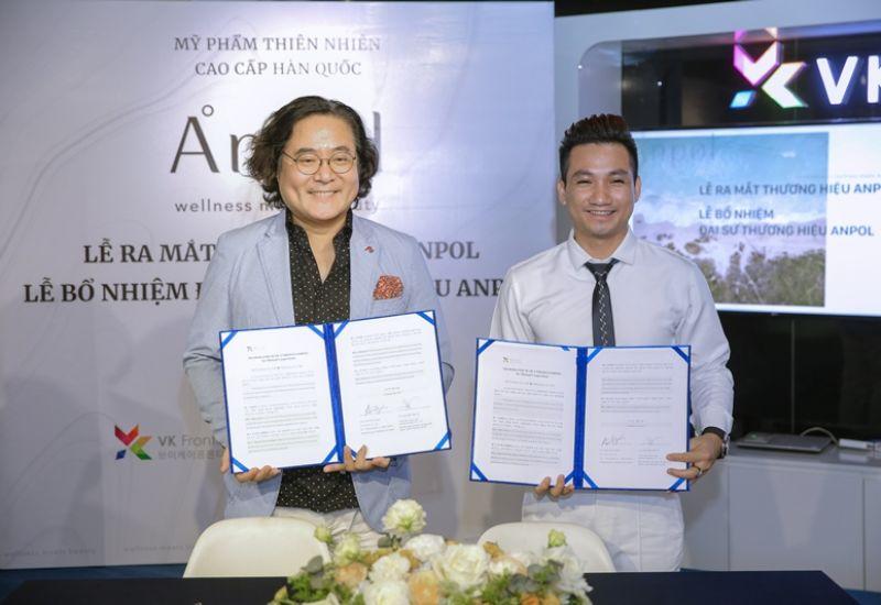 Tập đoàn truyền thông sự kiện Timestar Group ký kết hợp tác thương hiệu mỹ phẩm Anpol tại Việt Nam