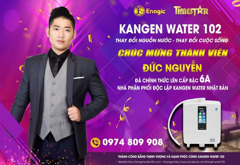 Doanh nhân Đức Nguyễn - Người truyền lửa khởi nghiệp cùng Kangen water